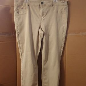 Women's Maurices Tan Pants, 20